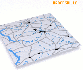 3d view of Hadensville