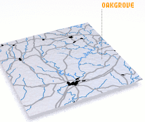 3d view of Oak Grove