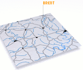 3d view of Brent