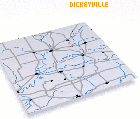 3d view of Dickeyville