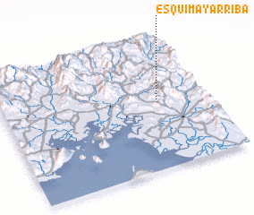 3d view of Esquimay Arriba
