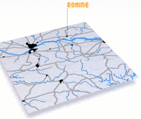 3d view of Romine