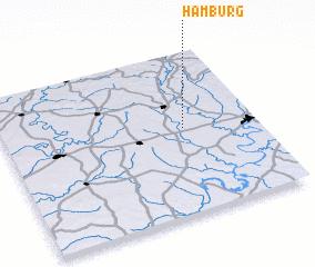 3d view of Hamburg