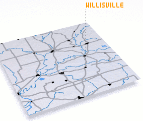 3d view of Willisville