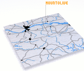 3d view of Mount Olive