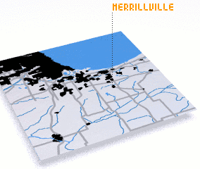 3d view of Merrillville