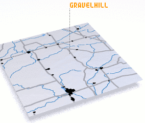 3d view of Gravel Hill