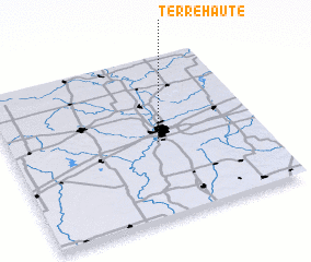 3d view of Terre Haute