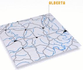 3d view of Alberta