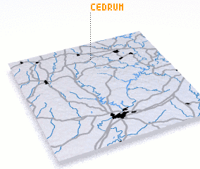 3d view of Cedrum