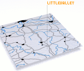 3d view of Little Valley