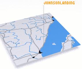 3d view of Johnson Landing