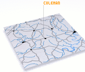 3d view of Coleman