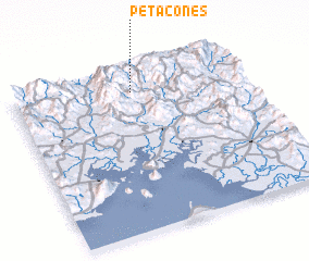 3d view of Petacones