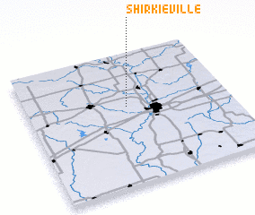 3d view of Shirkieville