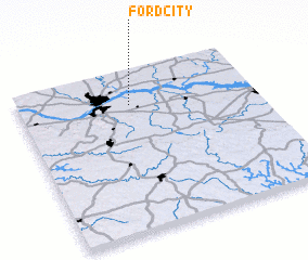3d view of Ford City
