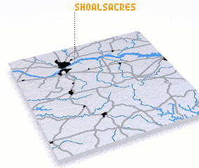 3d view of Shoals Acres