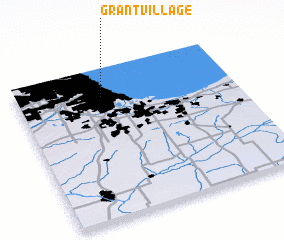 3d view of Grant Village