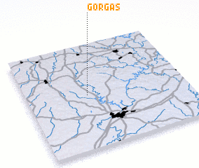 3d view of Gorgas