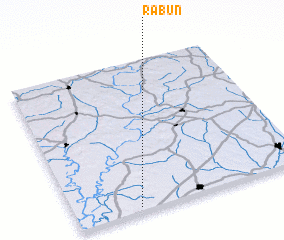 3d view of Rabun