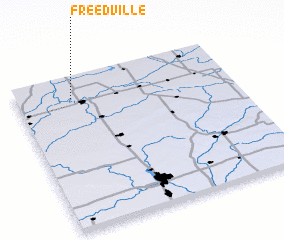 3d view of Freedville