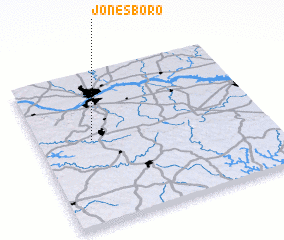 3d view of Jonesboro