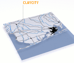 3d view of Clay City