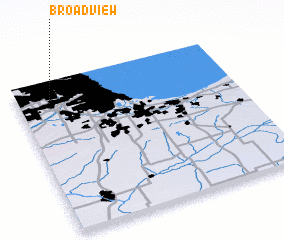 3d view of Broadview