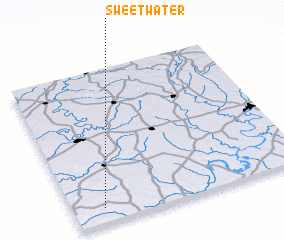 3d view of Sweet Water