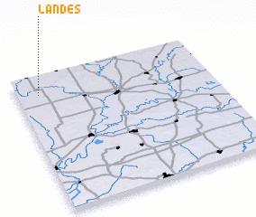 3d view of Landes