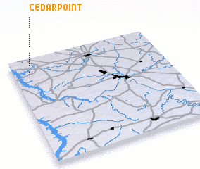 3d view of Cedar Point