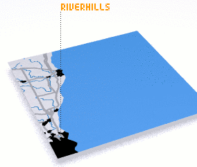 3d view of River Hills
