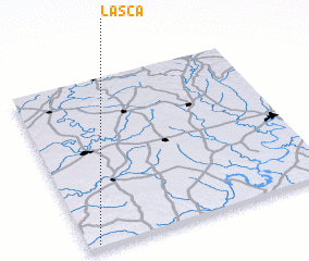 3d view of Lasca