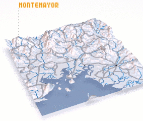3d view of Monte Mayor
