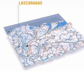 3d view of Las Cañadas