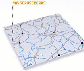 3d view of Mays Crossroads