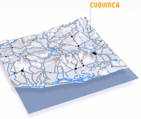 3d view of Cuquinca
