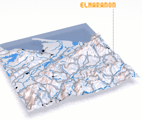 3d view of El Marañón