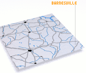 3d view of Barnesville