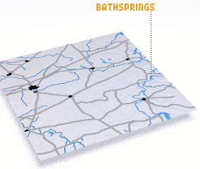3d view of Bath Springs