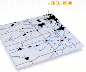 3d view of Jewell Road