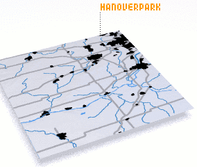 3d view of Hanover Park