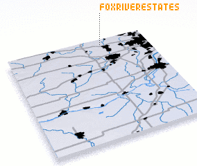 3d view of Fox River Estates