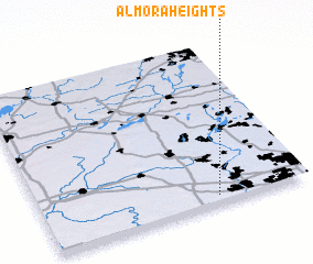3d view of Almora Heights