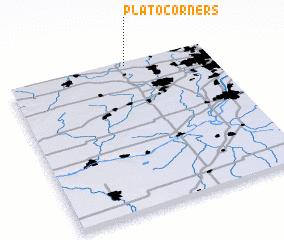 3d view of Plato Corners