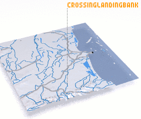 3d view of Crossing Landing Bank