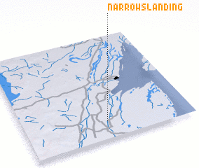 3d view of Narrows Landing