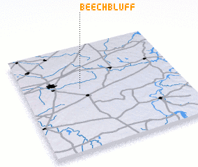 3d view of Beech Bluff