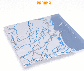 3d view of Panama
