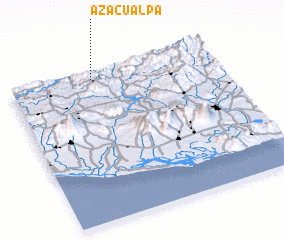 3d view of Azacualpa